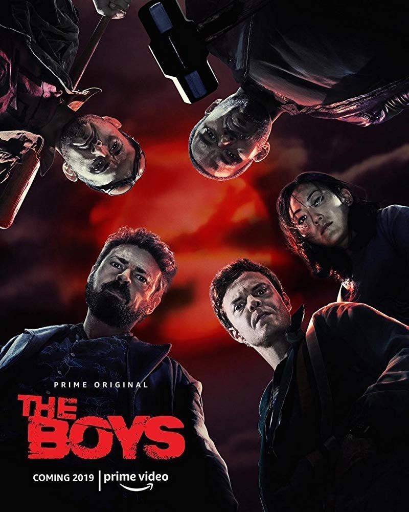 Amazon's The Boys has wrapped!